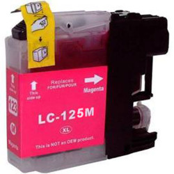 BROTHER LC-125 XL (B125XL, LC125 M)  Magenta 15 ml 1200 pages