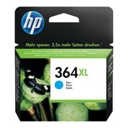 HP 364 XL Cyan authentique