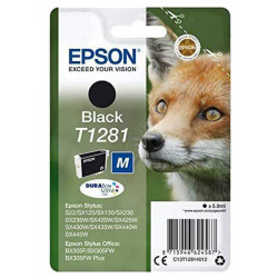 EPSON T1281 BLACK authentique