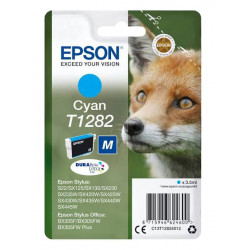 EPSON T1282 CYAN authentique