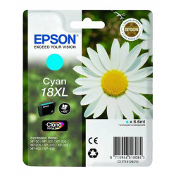EPSON T1812 XL CYAN authentique
