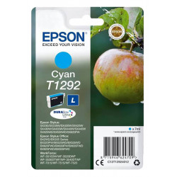 EPSON T1292 CYAN authentique