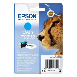 EPSON T0712 Cyan authentique