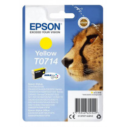 EPSON  T0714  YELLOW authentique