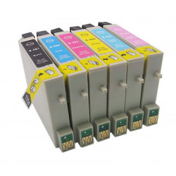 EPSON T0487 XL V6 Multipack compatible