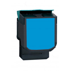 LEXMARK LT317 (71B0020) CYAN 2300 PAGES
