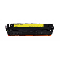 HP HT126 (CE312A, Canon CRG329) Jaune 1000 PAGES